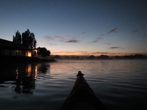6.25am: Pre dawn cruise