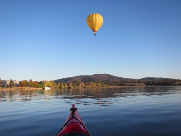 The balloons are such a part of the Canberra landscape.