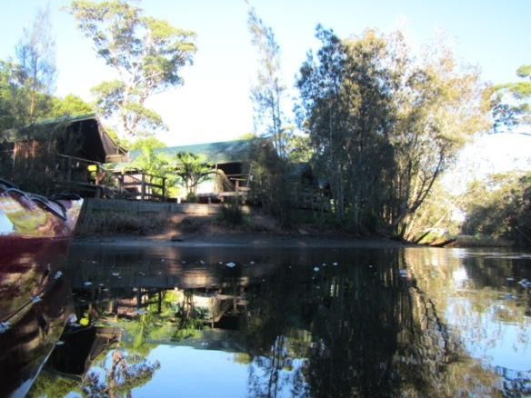 A different view of the 'Safari Cabins'