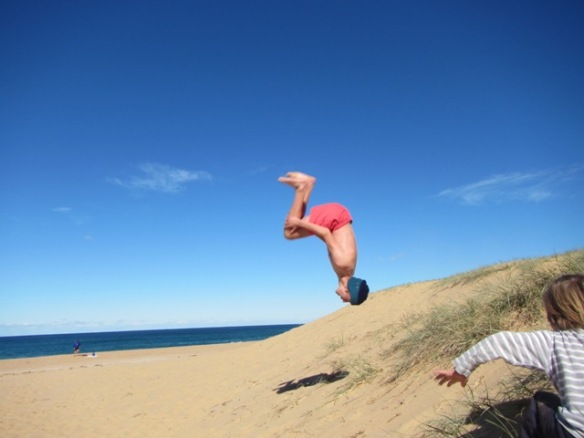 Testing out the sand dunes.....yep...All Good!