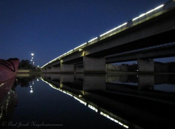 Great reflections from Kings Avenue Bridge as I headed into the Main Basin