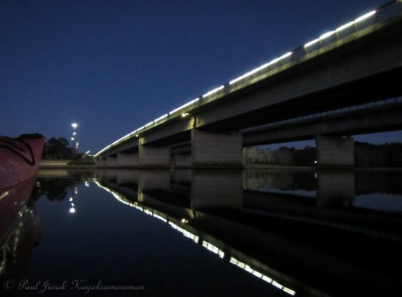 Great reflections from Kings Avenue Bridge as I headed into the Main Basin