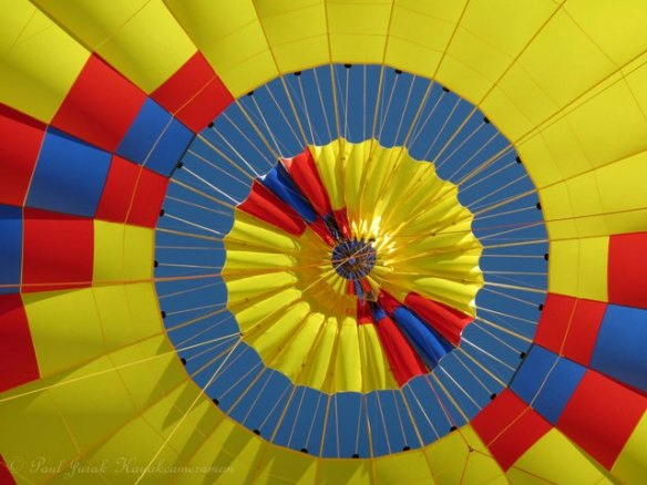 """Releasing of all the hot air. Now I know why Richard said """" don't pull that red rope."""