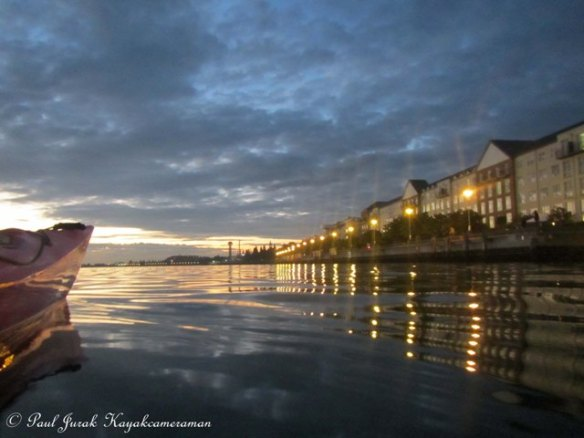 The guiding lights of Newcastle Foreshore. Also not a bad spot for a fish as well.
