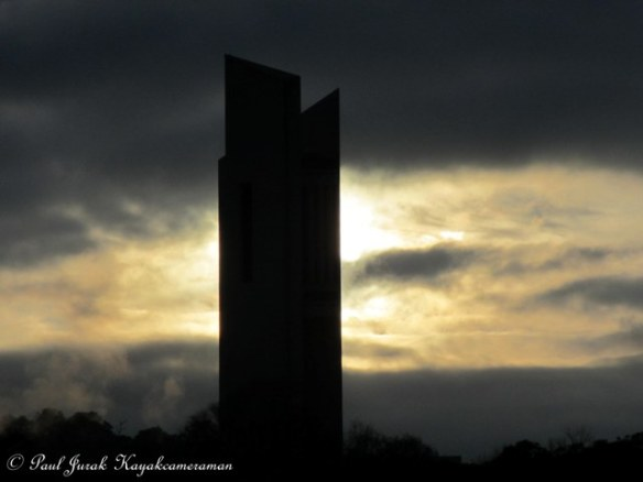 The National Carillon looking surreal