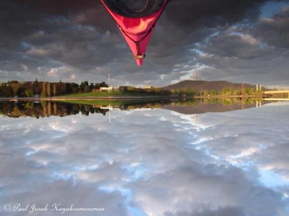 It felt like I was paddling on the clouds