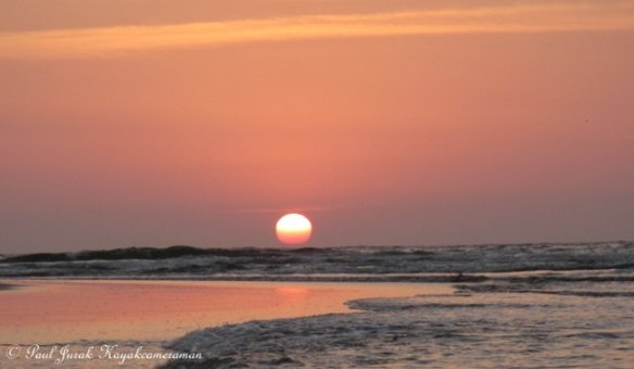 Pink sun = wow
