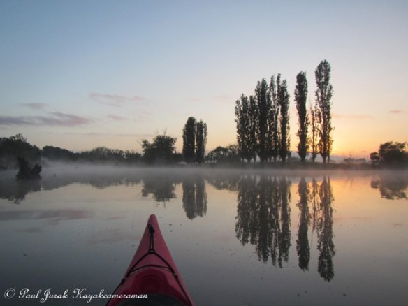Misty Molonglo River