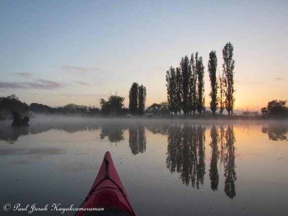 Misty Molonglo River