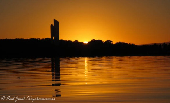The golden glow emerging from the horizon and flooding light. This is what it's all about.