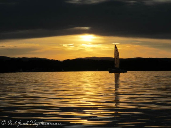 Sailing off into the sunset...sorry couldn't help myself there :)
