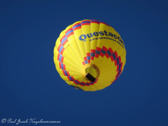 Love seeing the Questacon Balloon in the sky.