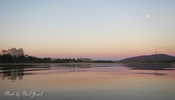 Canberra's pastel palette
