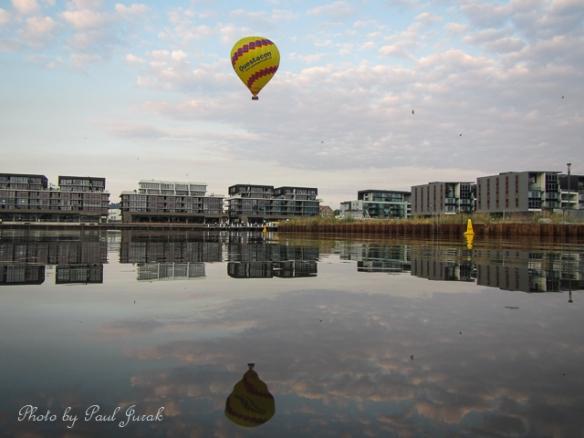 Kingston Foreshore float over