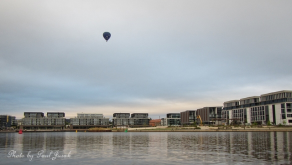 The balloons are drifting again. They are such a huge part of the Canberra landscape.