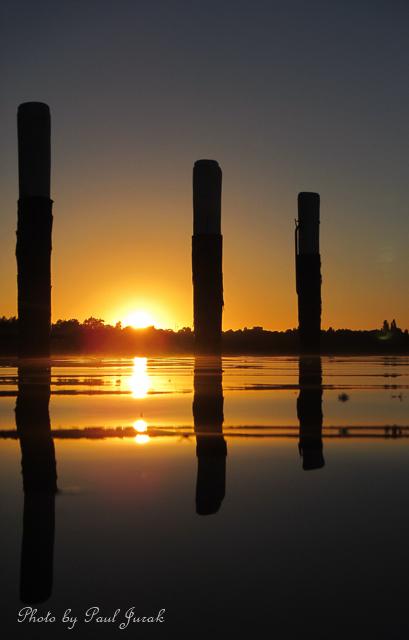 Golden tones + gorgeous sunrise = wow.