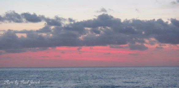 Pastel pink beginning