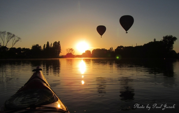 This morning I floated my into Sunday with spectacular scenery.