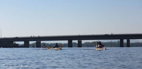 It great to see so many kayakers out on LBG