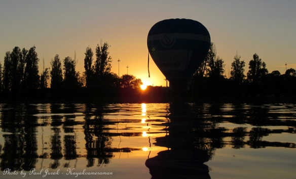 Ballooning into another stunning day.
