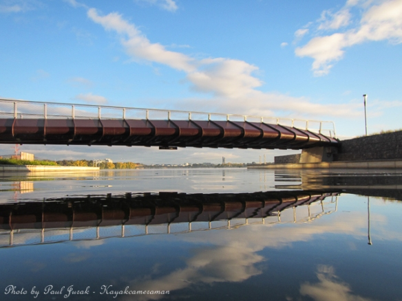 A water view perspective of Canberra