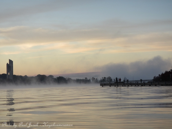 Then the mist rolled in from the East Basin creating a beautiful atmosphere.