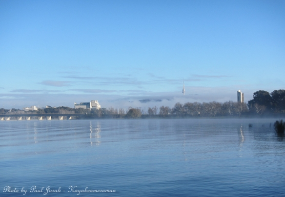 Its shaping up to be another stunning winter's day here in Canberra.
