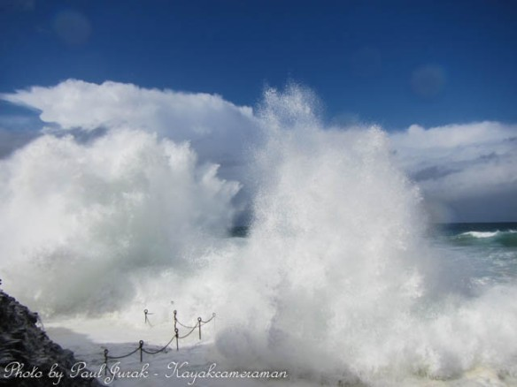 The unbridled power of the ocean - Bogey Hole, Newcastle